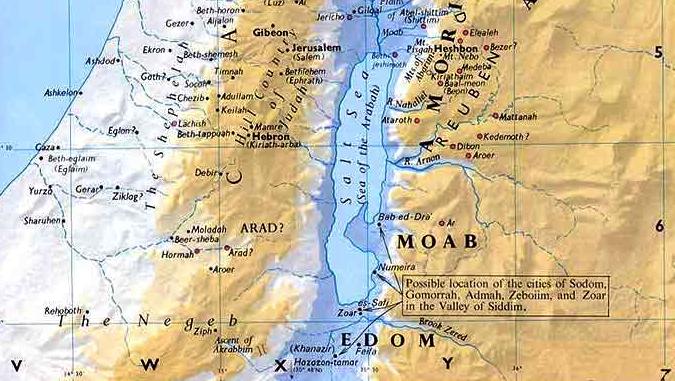 Middle East Map Dead Sea.Dead Sea
